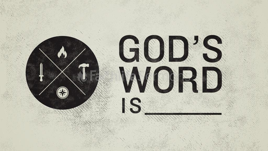 God's Word Is large preview