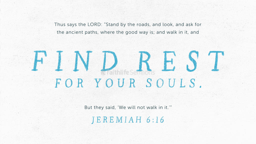 Jeremiah 6:16 large preview