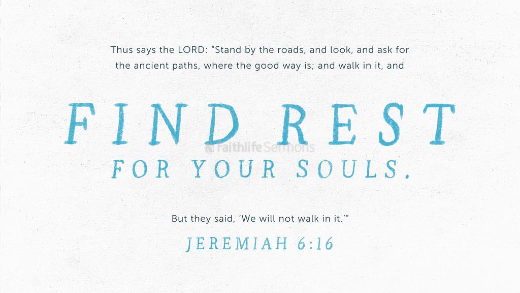 Jeremiah 6 16 3840x2160 preview