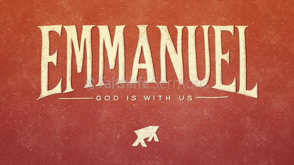 Emmanuel God Is With Us preview