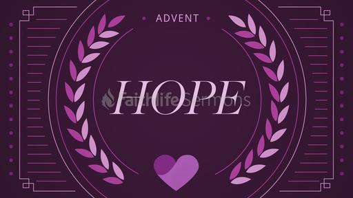 Advent Series Hope