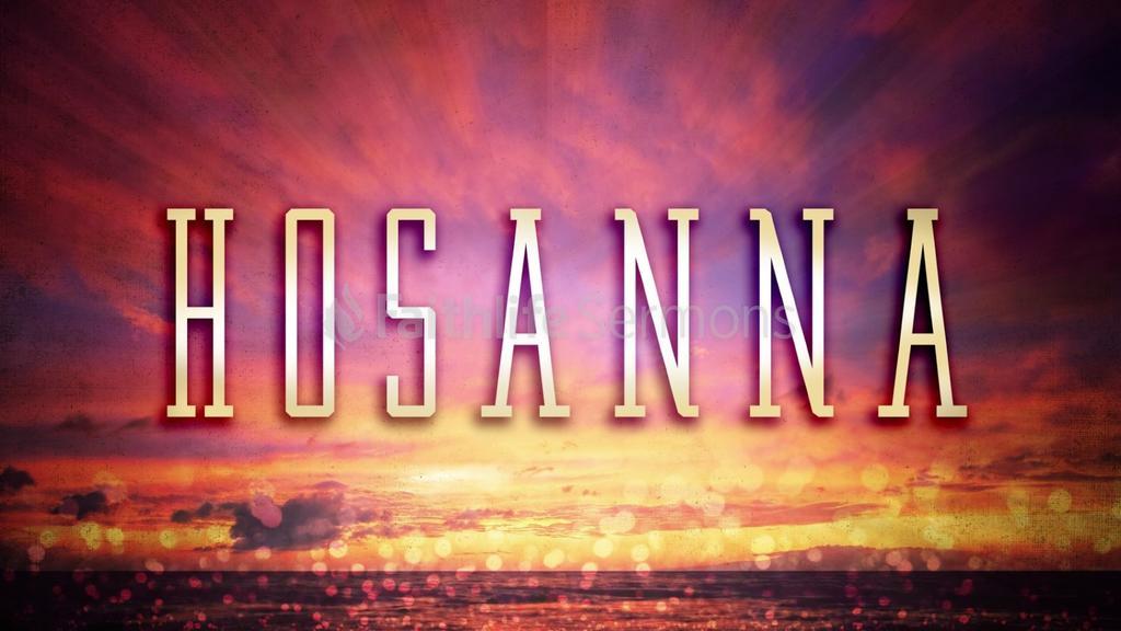 Sunset  Hosanna preview
