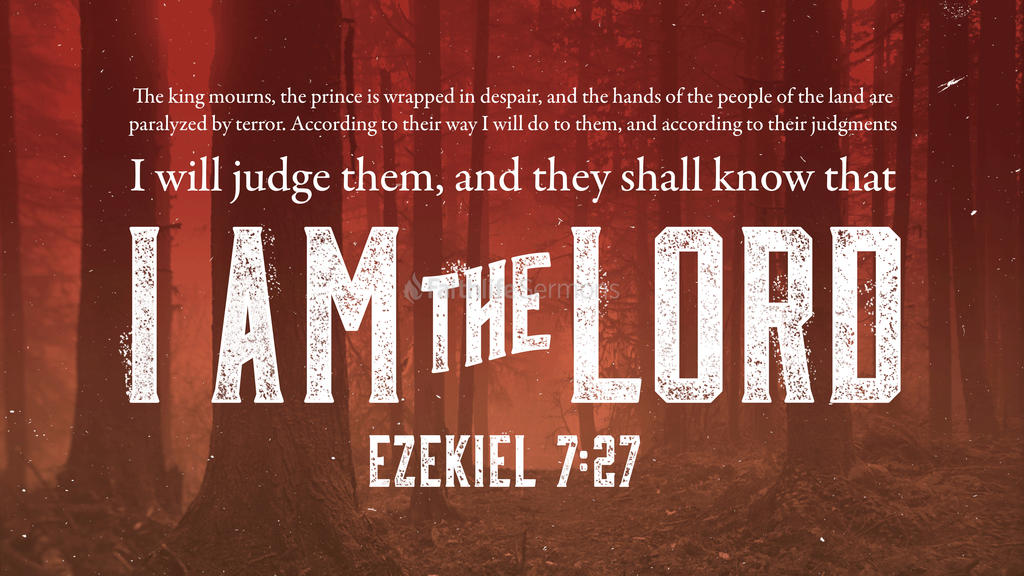 Ezekiel 7:27 large preview