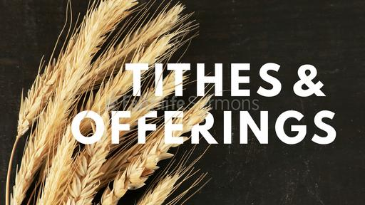 Wheat Tithes and Offerings
