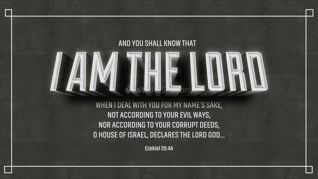 Ezekiel 20:44 large preview