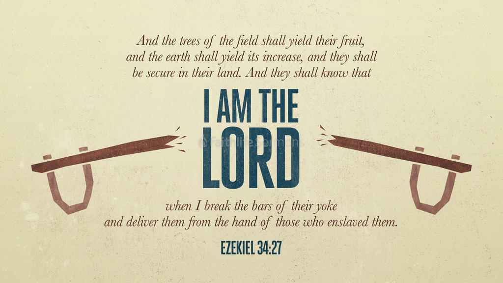 Ezekiel 34:27 large preview