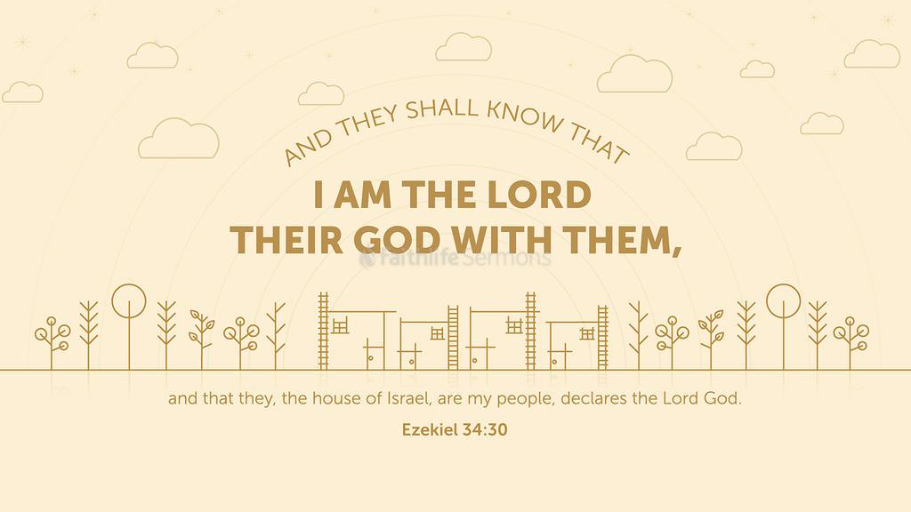 Ezekiel 34:30 large preview
