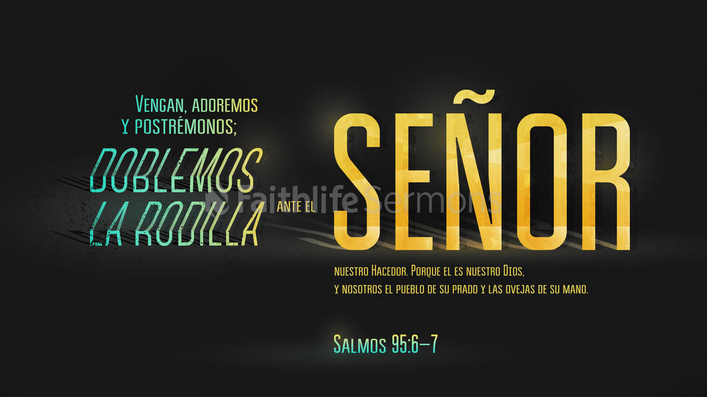 Salmo 95.6–7 large preview