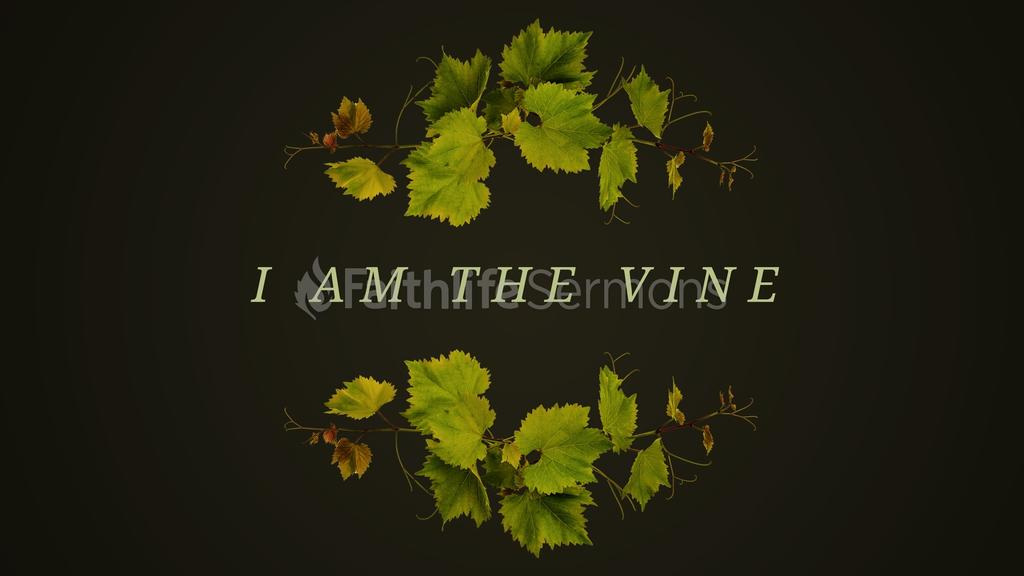 I Am the Vine large preview