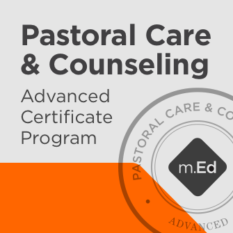 Pastoral Care & Counseling: Advanced Certificate Program