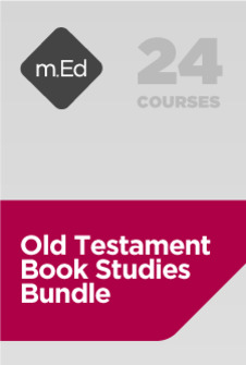 Mobile Ed: Old Testament Studies Bundle (24 courses)