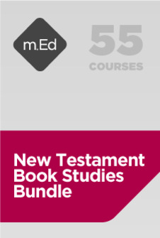 Mobile Ed: New Testament Book Studies Bundle (55 courses)