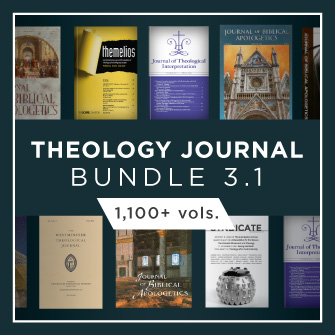 Theology Journal Bundle 3.1 (1,100+ vols.)