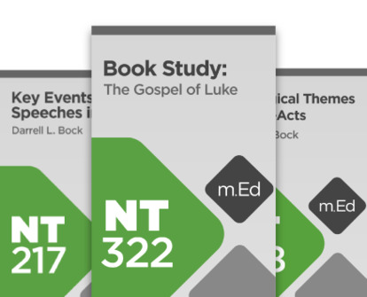 Mobile Ed: Darrell Bock Luke and Acts Bundle (3 courses)