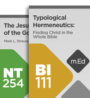 Mobile Ed: Discovering Christ throughout Scripture (2 courses)