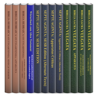 Stuttgart Scholarly Editions: Old Testament (12 vols.)