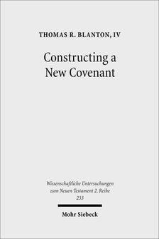 Constructing a New Covenant: Discursive Strategies in the Damascus Document and Second Corinthians